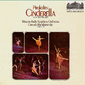 prokofiev: cinderella (complete ballet) - mrso/gennady rozhdestvensky