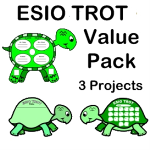 esio trot value pack bundle (3 projects)