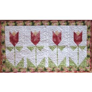 tulip time tablerunner
