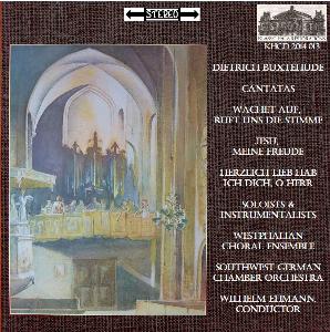 buxtehude: cantatas - westphalian choiral ensemble/wilhelm ehmann