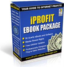 iprofit ebook package + master resell rights