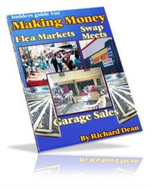 making money flea markets, swap meets ebook