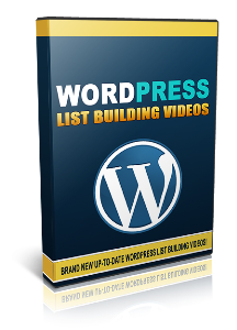 wordpress list building videos - video series
