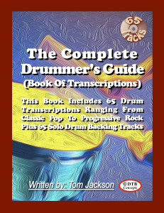 the complete drummer's guide (book of transcriptions) interactive pdf
