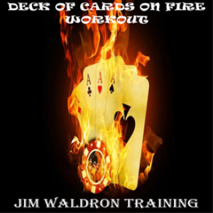 deck of cards on fire workout