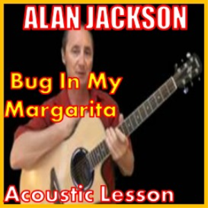 learn to play bug in my margarita by alan jackson