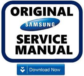 samsung rs267tdbp refrigerator original service manual download