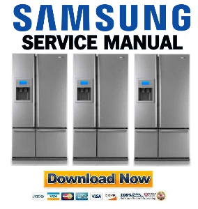 samsung rm257abrs refrigerator original service manual download