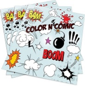 coloring and comics printables