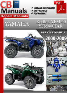 Yamaha YFM 40 Kodiak 2000-2009 Service Repair Manual | eBooks | Automotive