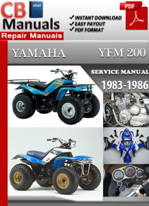 Yamaha YFM 200 1983-1986 Service Repair Manual | eBooks | Automotive
