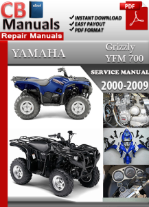 Yamaha YFM 700 Grizzly 2000-2009 Service Repair Manual | eBooks | Automotive