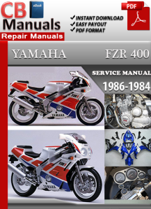 yamaha fzr400 1986-1994 service repair manual