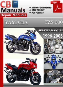 Yamaha FZS 600 1996-2003 Service Repair Manual | eBooks | Automotive