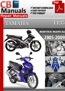 Yamaha T135 2005-2009 Service Repair Manual | eBooks | Automotive