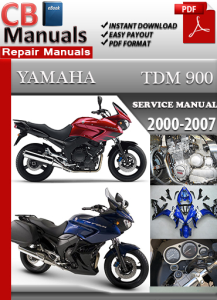 Yamaha TDM 900 2000-2007 Service Repair Manual | eBooks | Automotive