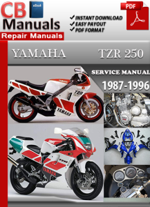 Yamaha TZR250 1987-1996 Service Repair Manual | eBooks | Automotive