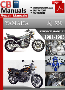 Yamaha XJ 550 1981-1983 Service Repair Manual | eBooks | Automotive