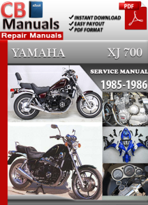 Yamaha XJ 700 1985-1986 Service Repair Manual | eBooks | Automotive