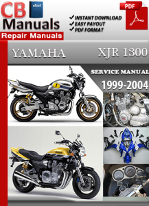 Yamaha XJR 1300 1999-2004 Service Repair Manual | eBooks | Automotive