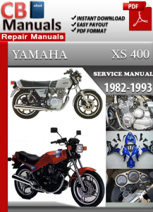 Yamaha XS 400 1982-1993 Service Repair Manual | eBooks | Automotive