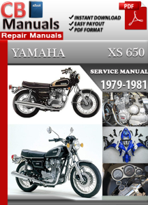 Yamaha XS 650 1979-1981 Service Repair Manual | eBooks | Automotive