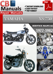 Yamaha XS 750 1977-1982 Service Repair Manual | eBooks | Automotive