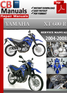 Yamaha XT 660 R 2004-2008 Service Repair Manual | eBooks | Automotive