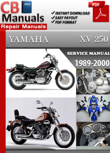 Yamaha XV 250 1989-2000 Service Repair Manual | eBooks | Automotive