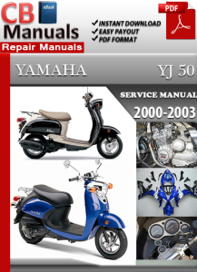 Yamaha YJ 50 2000-2003 Service Repair Manual | eBooks | Automotive