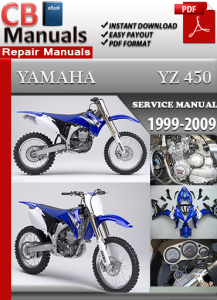 Yamaha YZ 450 1999-2009 Service Repair Manual | eBooks | Automotive