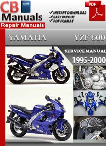 Yamaha YZF 600 1995-2000 Service Repair Manual | eBooks | Automotive