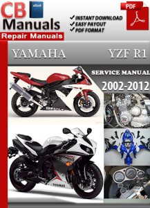 Yamaha YZF R1 2000-2012 Service Repair Manual | eBooks | Automotive
