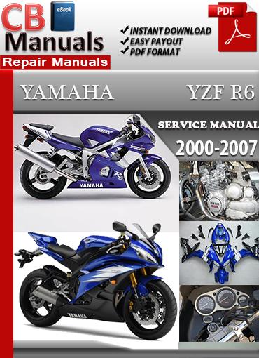 yamaha yzf r6 2000 2007 service repair manual ebooks automotive rh store payloadz com 2007 yamaha r6 service manual pdf 2006 R6