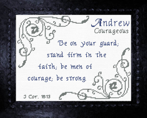 Name Blessings - Andrew 6 | Crafting | Cross-Stitch | Other