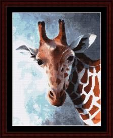 Giraffe - SuzyPal cross stitch pattern by Cross Stitch Collectibles | Crafting | Cross-Stitch | Wall Hangings
