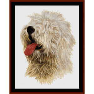 old english sheepdog - robert j. may cross stitch pattern by cross stitch collectibles