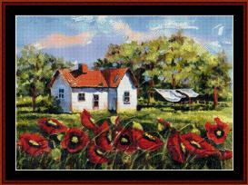 wash day - suzypal cross stitch pattern by cross stitch collectibles
