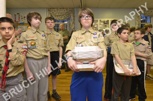 wilmington boy scout troop 56 food drive-april, 15th 2014-supplies