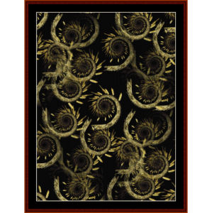 Fractal 437 cross stitch pattern by Cross Stitch Collectibles | Crafting | Cross-Stitch | Wall Hangings
