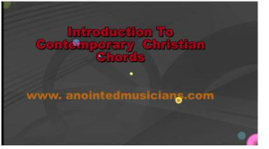 intro- contemporary christian chords