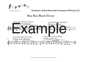 musical structure: composite ternary form