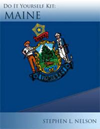 Do-It-Yourself Maine LLC Kit: Premium Edition | eBooks | Business and Money