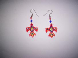 Brick Stitch ThunderbirdDelica Seed Beading Earring Pattern | Other Files | Arts and Crafts