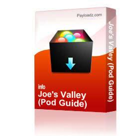 Joe's Valley (Pod Guide) | Other Files | Photography and Images