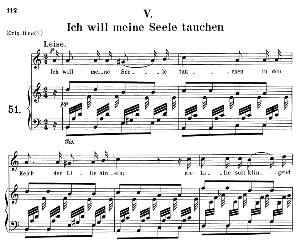 Ich will meine Seele tauchen Op.48 No.5, Medium Voice in A minor, R. Schumann (Dichterliebe), C.F. Peters | eBooks | Sheet Music