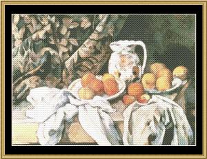carafe & fruit - cezanne