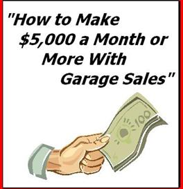 How to make 5000 dollars or more with garage sales for Build a house for under 5000 dollars