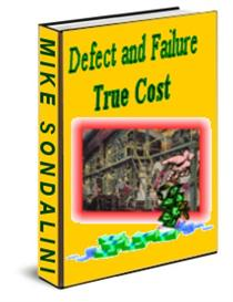 Defect and Failure True Cost (DAFT management Ebook) | eBooks | Business and Money