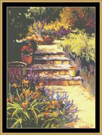 Garden Mediterraneo | Crafting | Cross-Stitch | Wall Hangings
